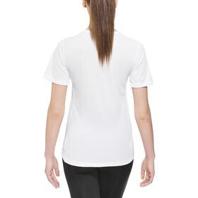 Odlo Cubic Shirt SS Crew Neck Damen white